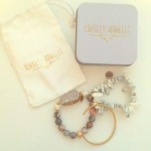 Kinsley Armelle Bracelet set